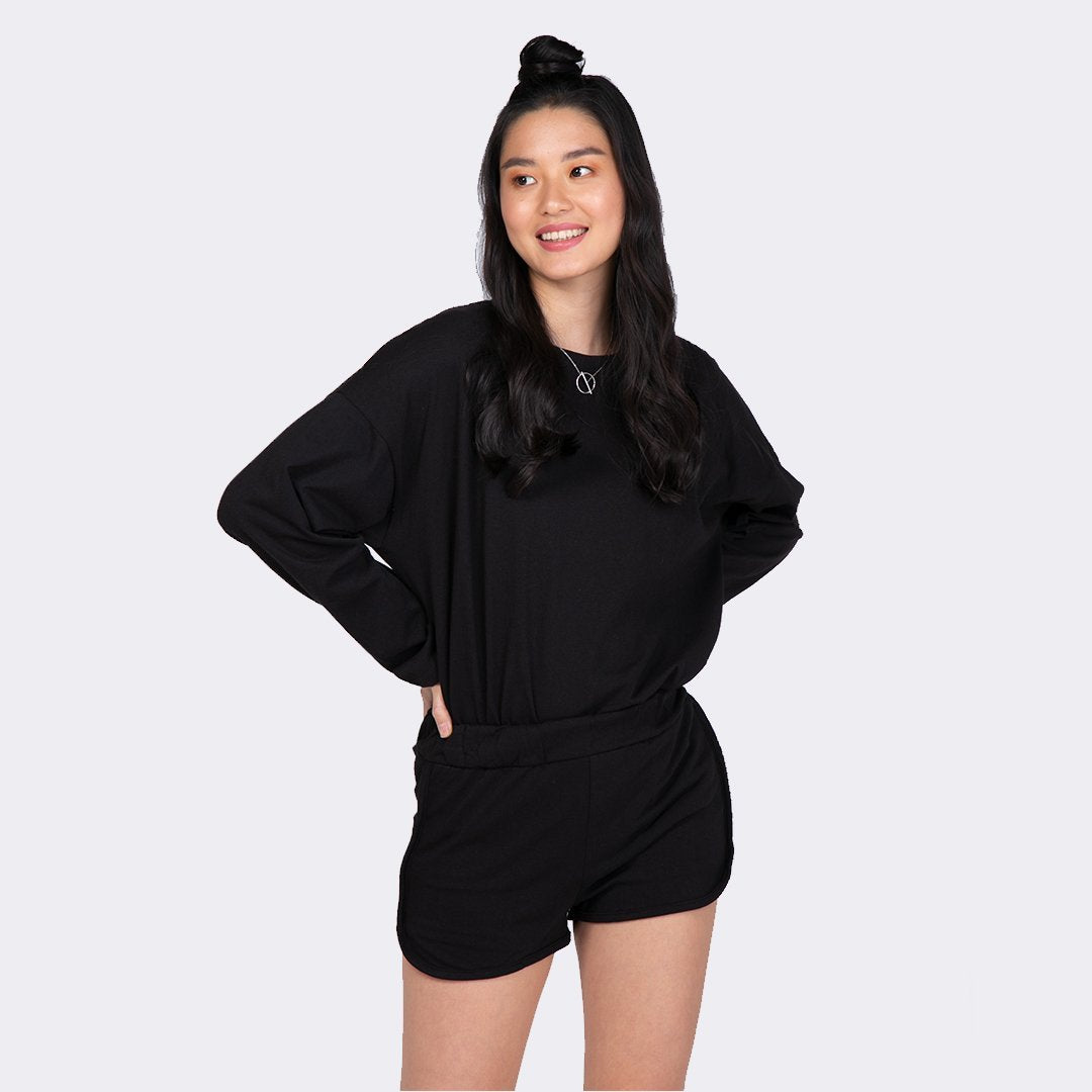 Heraposh  Sets Free Size / Black Sana Casual Set HP-T000144