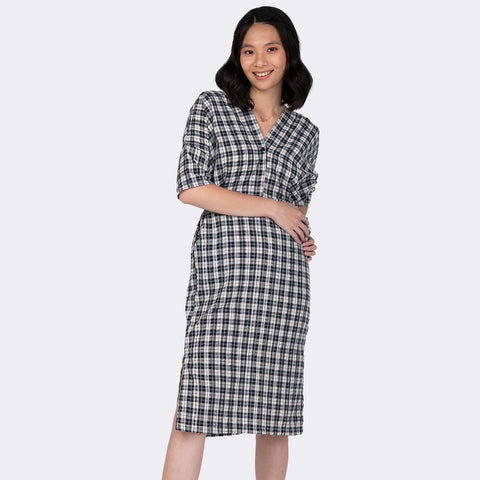 Heraposh  Dresses Solbin Checkered dress HP-D000045