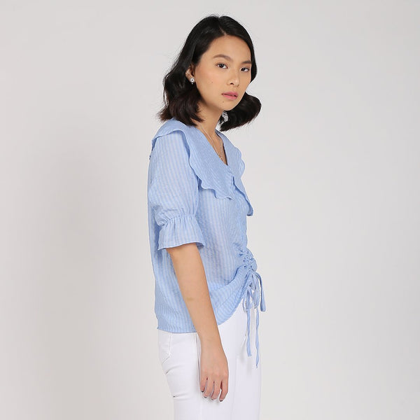 Heraposh Tops Tiffany Drawstring Top
