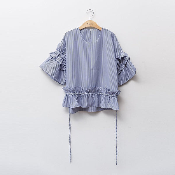 Heraposh  Tops Timmy Ruffled Blouse