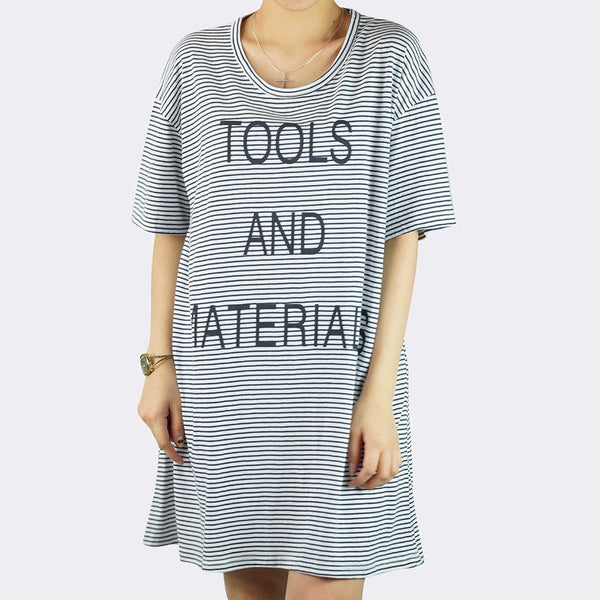 Heraposh  Tops Free Size / Dark Blue Tools and Materials Shirts HP-T000070