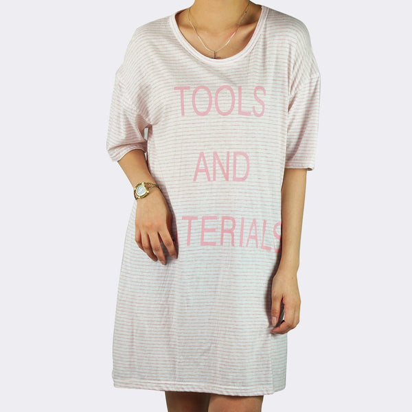 Heraposh  Tops Free Size / Peach Tools and Materials Shirts HP-T000070