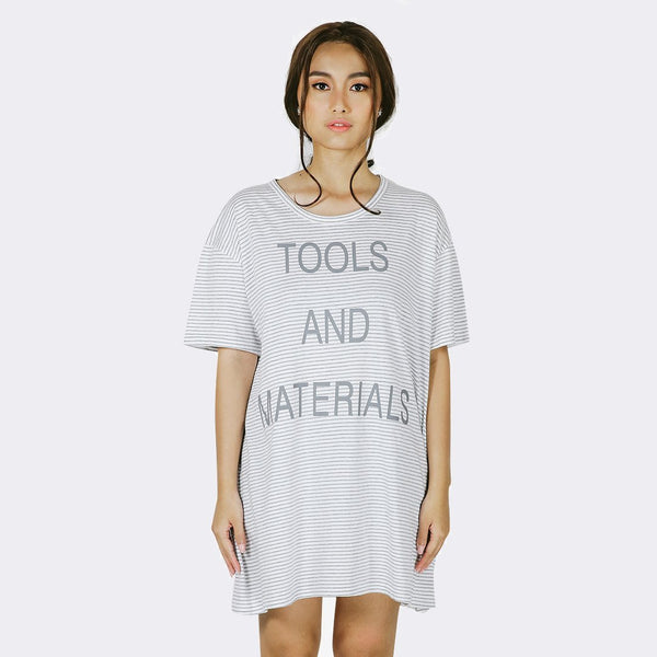 Heraposh  Tops Free Size / Gray Tools and Materials Shirts HP-T000070