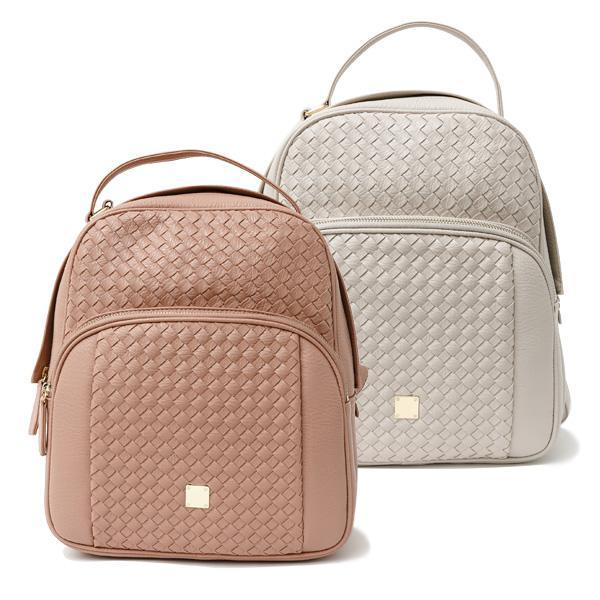 Heraposh  Bags Old Rose Veronica Leather Backpack HP-BA000020