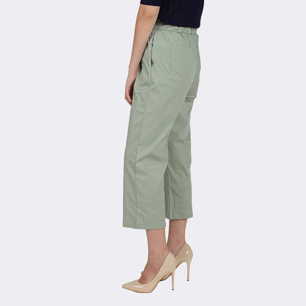 Heraposh  Bottom Free Size / Green Yoojung Straight Cut Pants HP-B000061