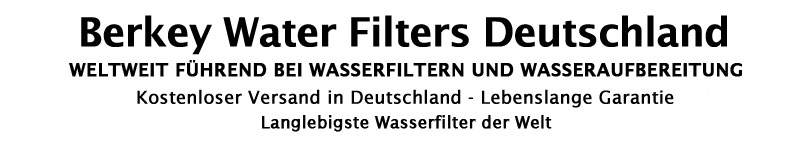 Berkey Waterfilters Germany