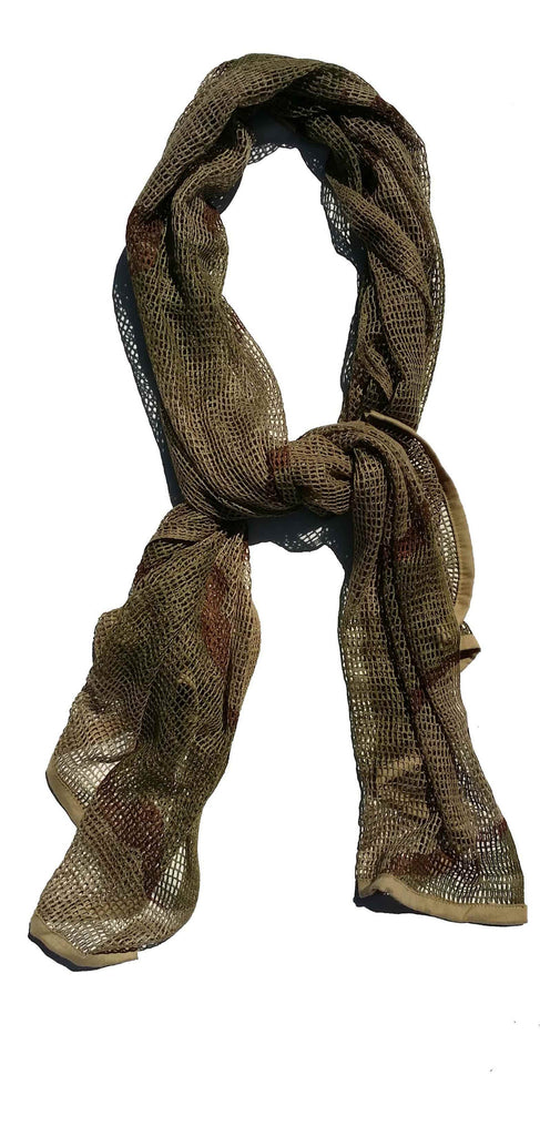 Brown Bark Camouflage Scarf