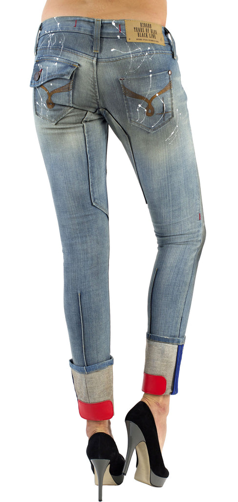 Women's Skinny Jeans - Chloe Double Star