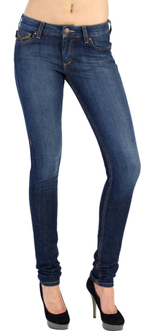 Women's Skinny Jeans -  Cecila (Dark Moon Wash)