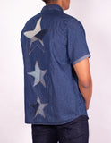 MEN'S DENIM SHIRT -