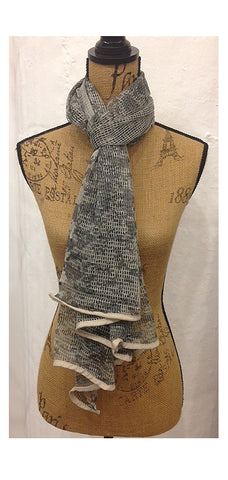 Grey Stealth Camouflage Scarf