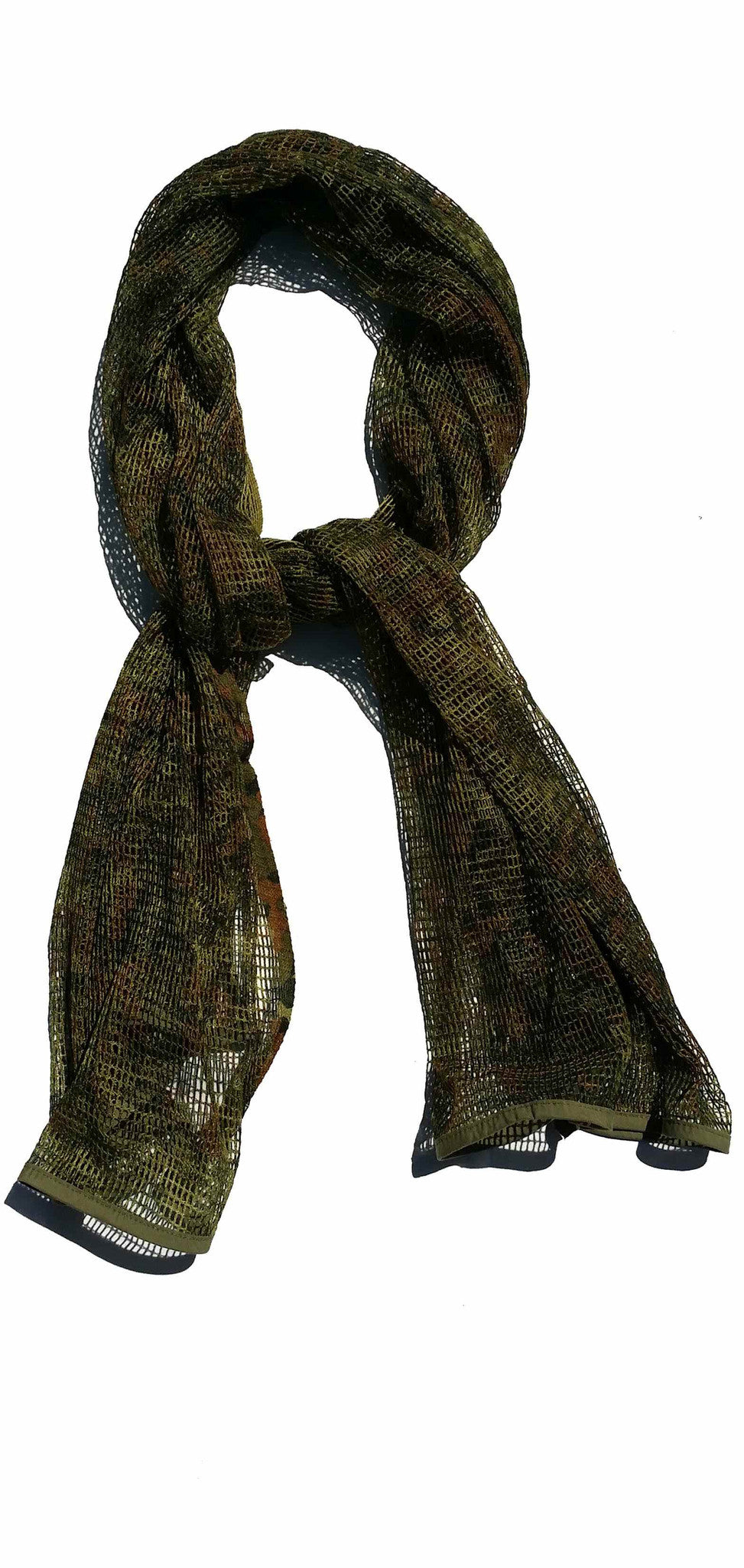 Jungle Green Camouflage Scarf