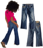 Kids Flared Boot cut jean Unisex - Vintage
