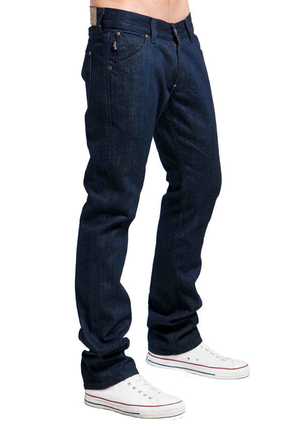 Men's Straight Jean's, Miles  - Rinse Wash
