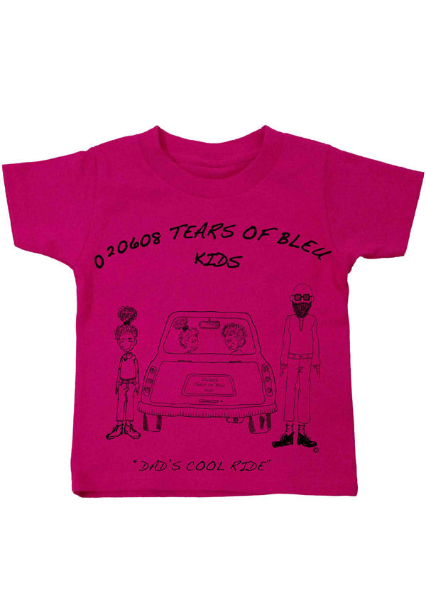 Kids Tee Shirts - Dad's Cool Ride
