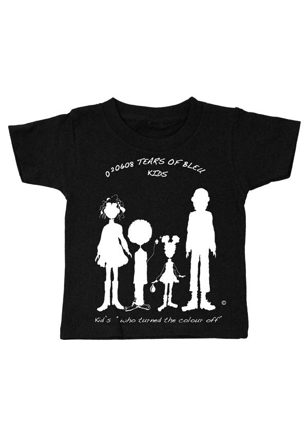 "Kid's Tee Shirt - - ""Kid's who Turned the Color Off"""