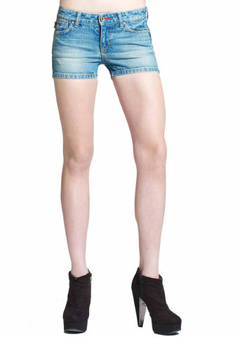 Vintage Denim Shorts (Vintage Wash)
