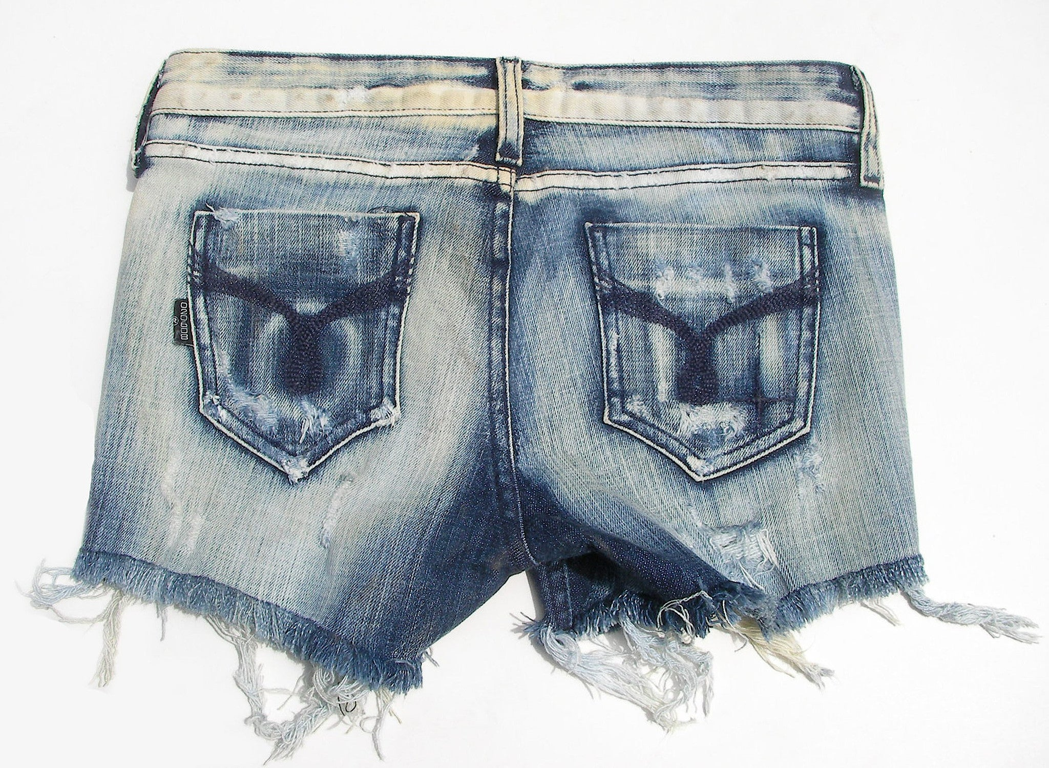 "Vintage Denim Shorts (Milkyway Vintage Wash) "" Candy"""
