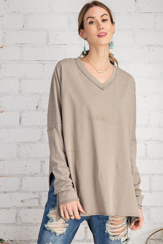 The Simple Long Sleeve Top