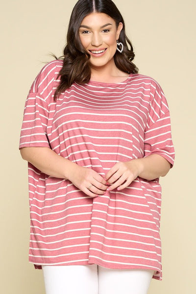 Nautical Striped Boxy Tunic