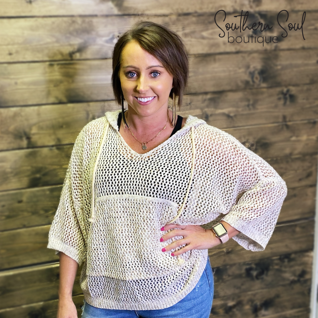 Wind Down and Relax Lightweight Knit Sweater