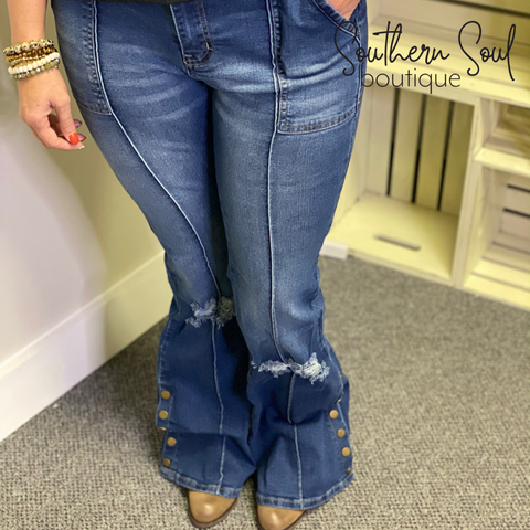 Denim Jeans, Southern Soul Boutique l Monroe NC l Plus Size Denim