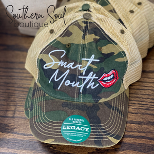 Smart Mouth Camo Hat