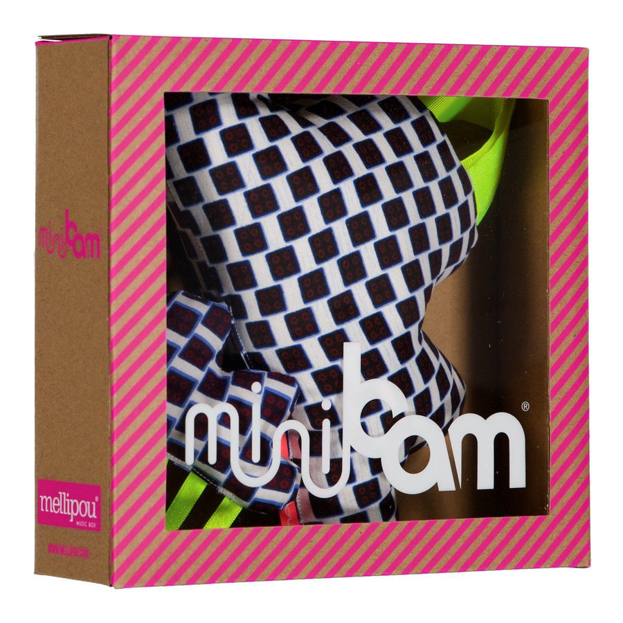 Minibam wax Mounira - Doudou musical - MELLIPOU