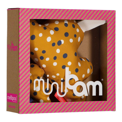 Peluche musicale moutarde - Minibam Lenny