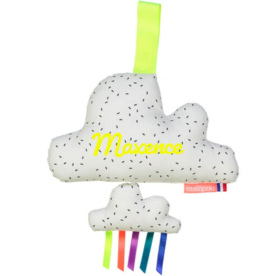 Coussin musical mixte nuage - Minibam Milky