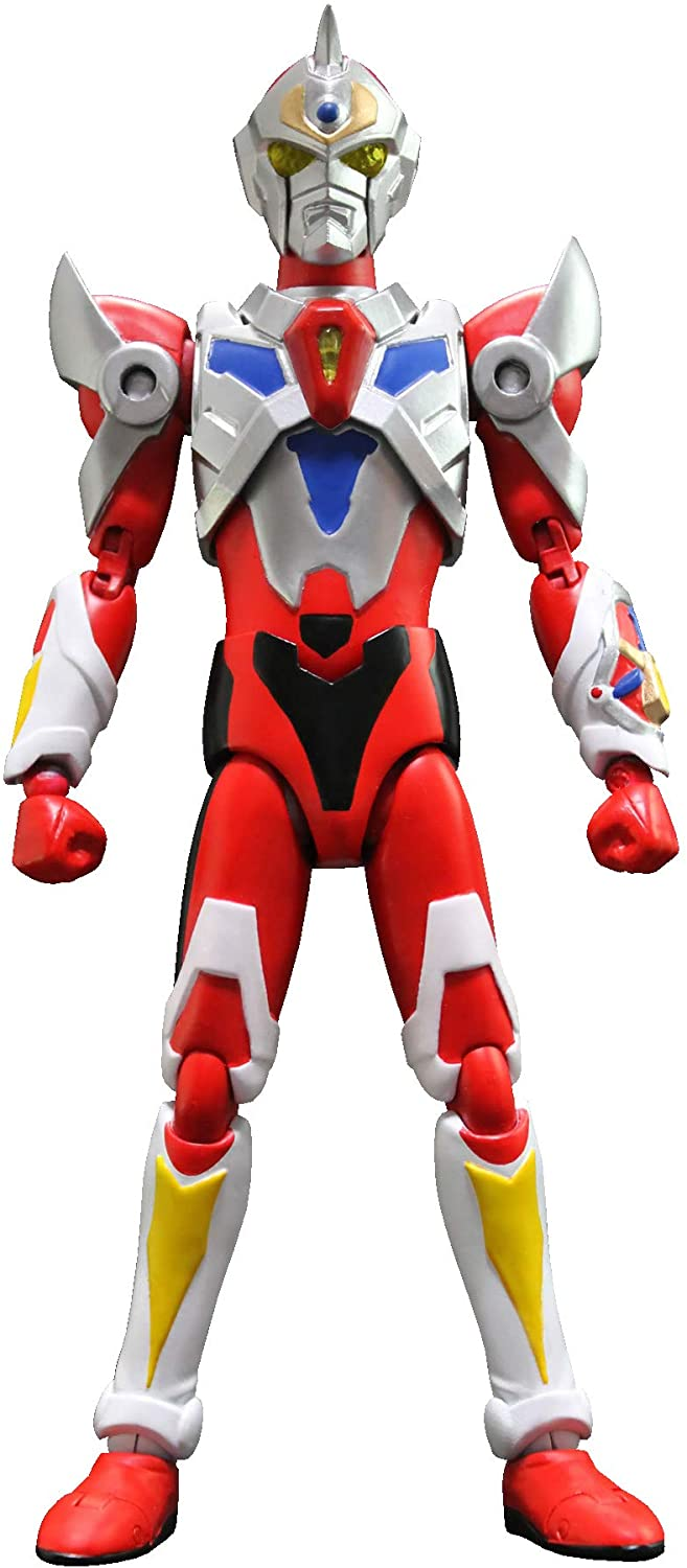 Evolution Toys Ssss.Gridman: Hero Action Figure, Multicolor