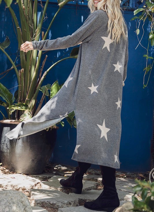 Star Print Duster