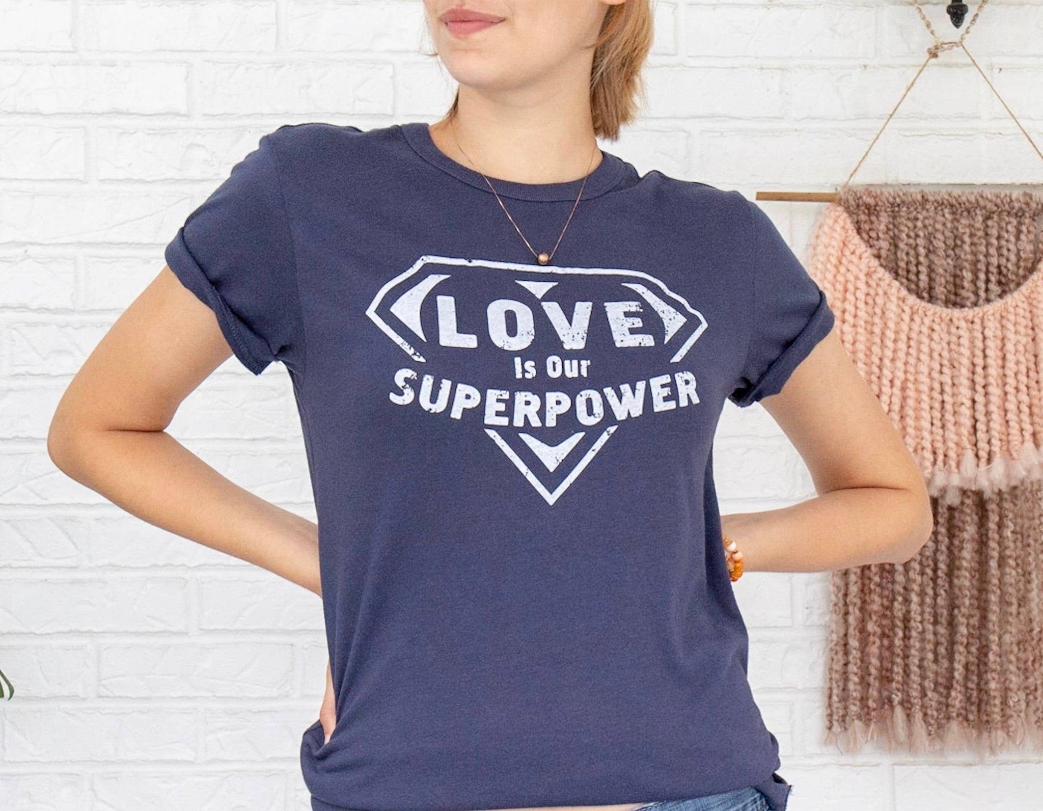 Love Is Our Super Power Graphic Tee
