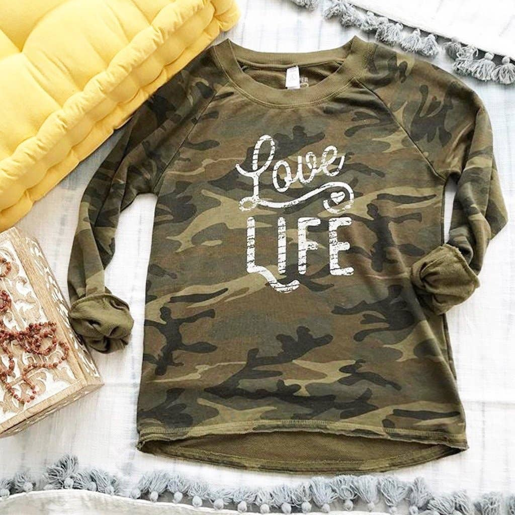 Graphic Love Life Pullover