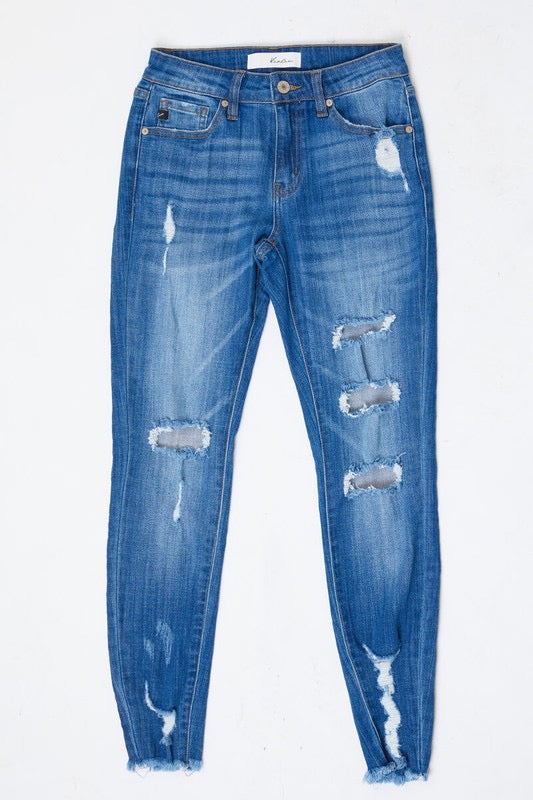 All Cut Up Skinny Jeans