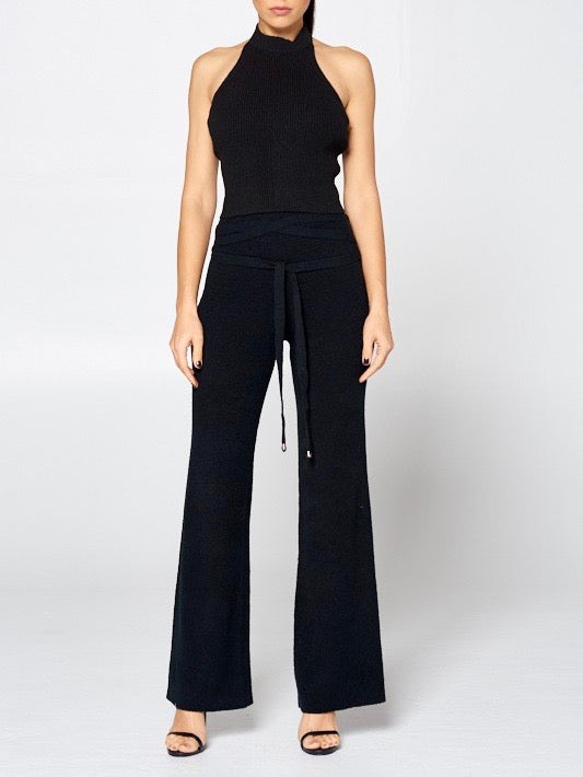 Halter Top & Long Pant Set