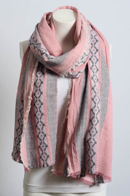 Moroccan Multi Pattern Stitch Scarf