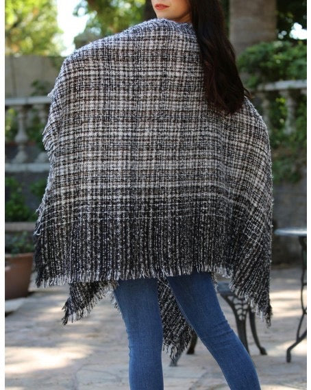 Ombre Sweater Wrap