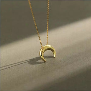 Luxe Mini Moon Necklace