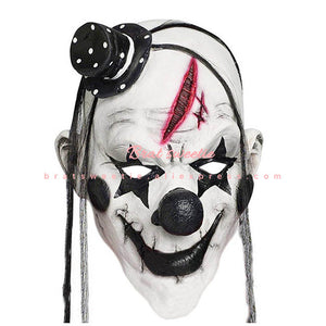 Killer Clown Latex Maske