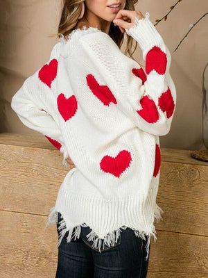 Heart On My Sleeve Blend Sweatshirt