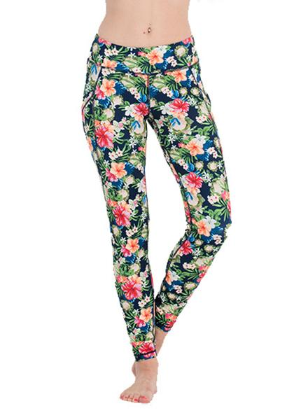 Floral Printed Pocket Leggings