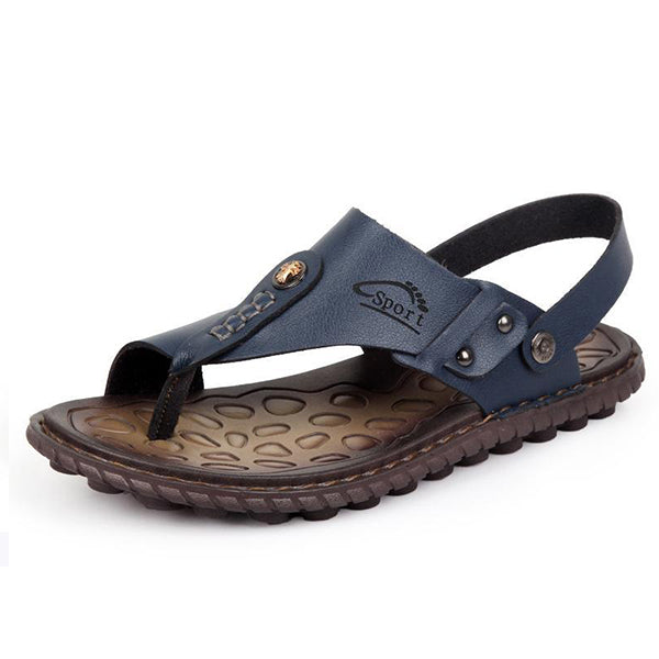 Men Two Way Wearing Comfortable Cool Beach Sandals