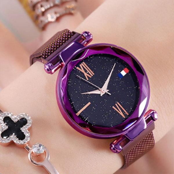 4 Colors Women New Fashion Starry Sky Watch