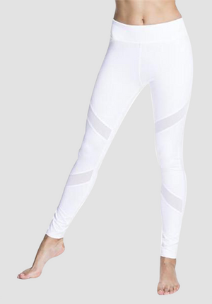 High Waist Mesh Yoga Pants-Mesh Leggings-2UBest.com-White-XL-2UBest.com