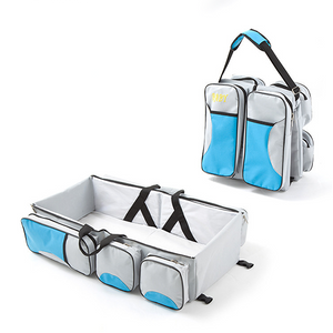 3-in-1 Portable Baby Diaper Bag Travel Bassinet-Kids & Baby-Prime4Choice.com-