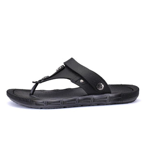 Men Portable Adjustable Heel Strap Clip Toe Soft Water Sandals