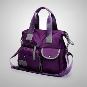 Women Nylon Waterproof Large Capacity Handbag Shoulder Bag Crossbody Bags