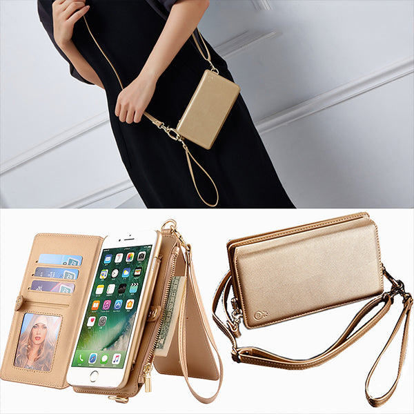 Fashion Girl Phone Bag Leather Case For Samsung galaxy Note 9 iPhone XS