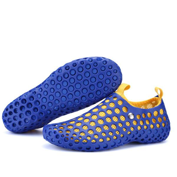 Hollow Out Mesh Multifunction Sandals Couple Beach Slipper Shoes